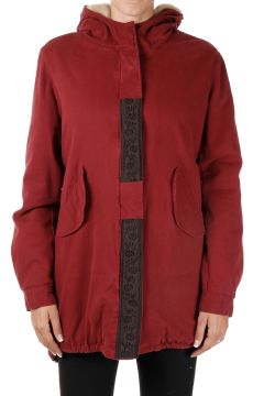 Hooded LUDO Coat in Stretch Cotton