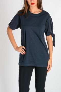 T-shirt SINGLE KNOT in Cotone