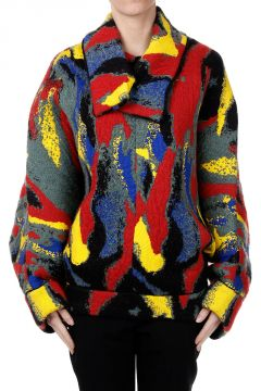 Printed Oversize Sweater