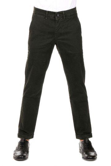 Pantaloni Chino in Cotone Stretch