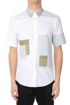 Button-down Shirt in Cotton