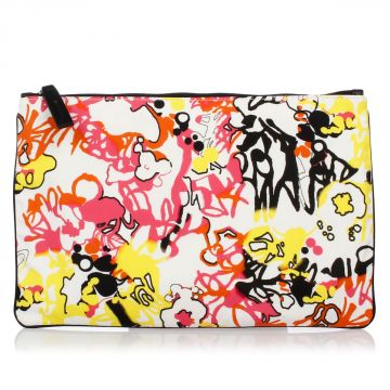 Abstract Print Envelope Bag