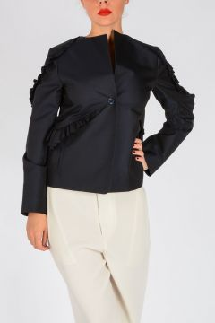 Cotton and Wool blend Jacket