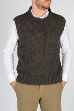 Sleeveless Yack Sweater