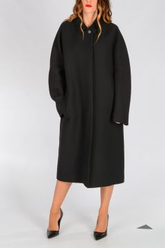 Silk Wool Coat