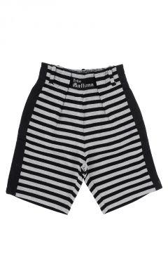 Pantalone Bermuda a Righe