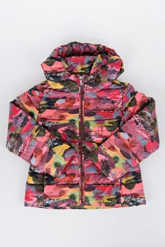 Camouflage Printed Down Jacket