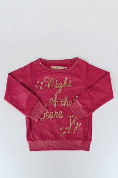 Cotton Glitter Sweatshirt