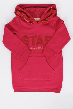 Sequins Embroidered STAR Sweatshirt