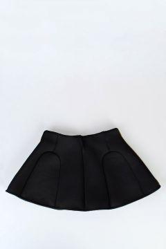 Stretch Fabric Flared skirt