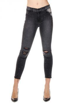 Jeans CROPPED SKINNY in Denim Stretch 13 cm