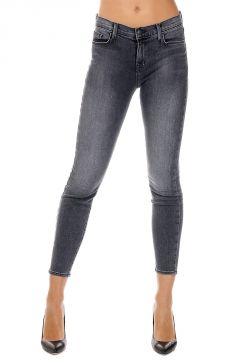 Jeans Cropped in Denim Stretch 13 cm