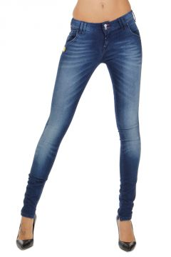Jeans BEATRIX in Denim Stretch 11 cm