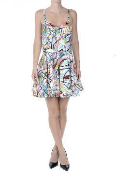 Printed Flared Mini dress