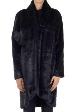 Cappotto in pelliccia finta