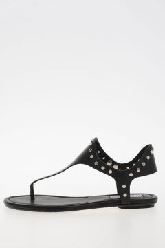 Studded Leather DARA FLAT Sandals