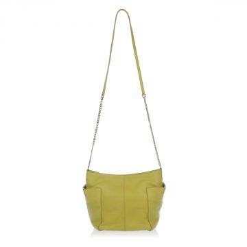Borsa Shopper piccola in pelle con Tracolla