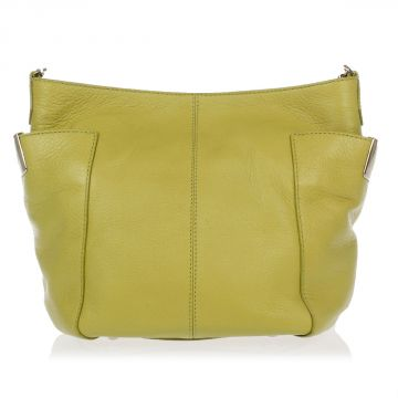 Small Leather Shopping Shoulder-Bag