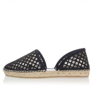 Leather Open work DREYA Espadrillas