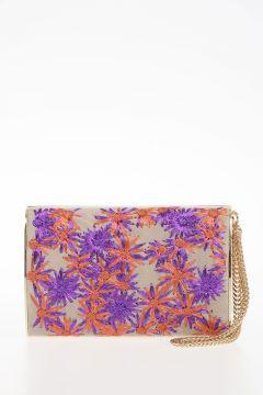 Embroidered Leather CARMEN BOHO Handbag