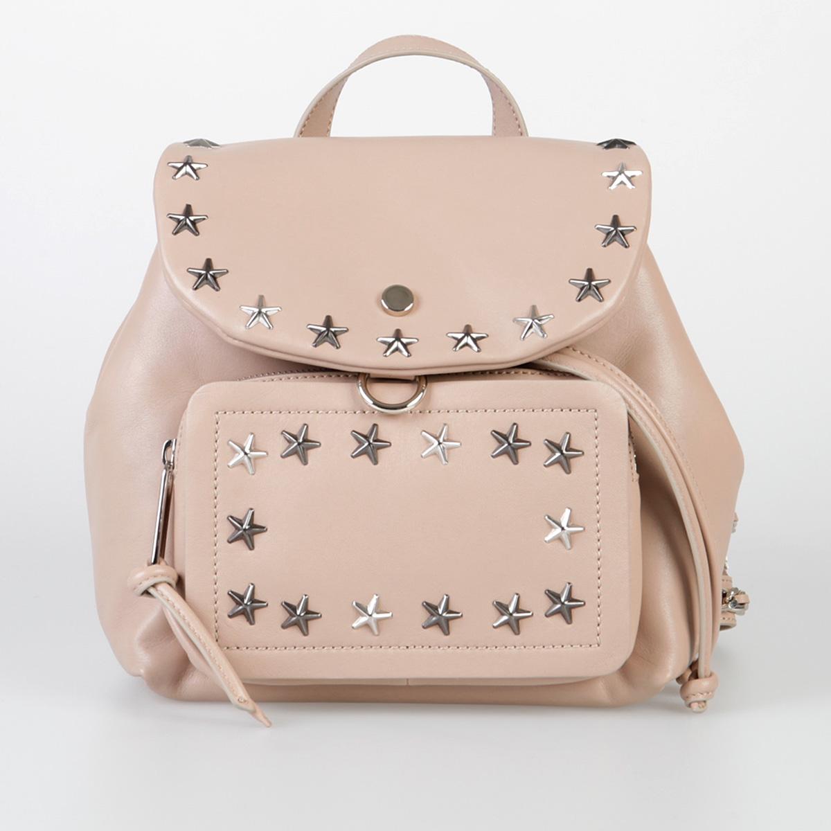 eb085d5f049 Jimmy Choo Women Leather SUKI Backpack - Glamood Outlet