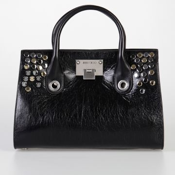 Studded Leather RILEY Handbag