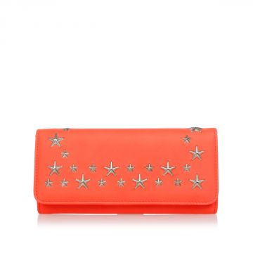 Leather Wallet with Stars