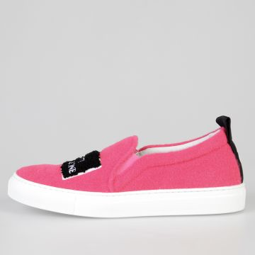 Fabric MILANO FUXIA Slip On Sneakers