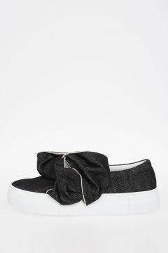 Sneakers Slip-On in Denim