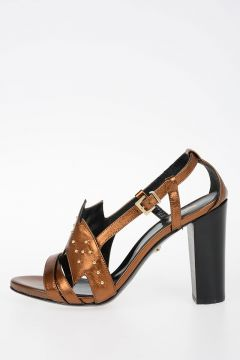 11 cm Leather Sandals