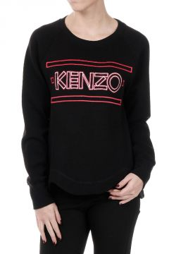 Logo printed Long sleeved Sweater