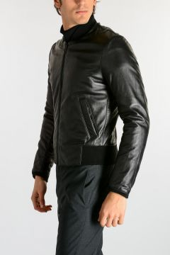 Leather Embroidery Jacket