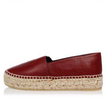 Leather  Espadrillas
