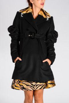 Virgin Wool Blend Coat
