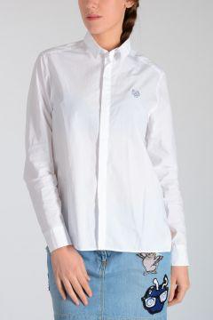 Camicia in Cotone Popeline