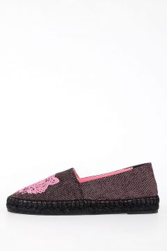 Embroidery Fabric Espadrilles Shoes