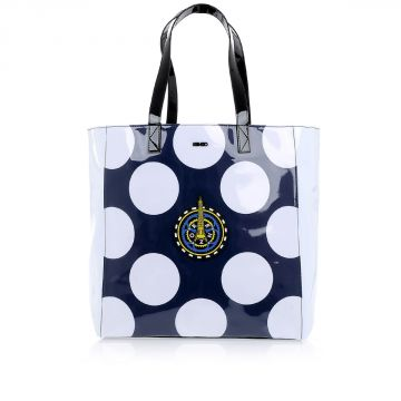 Borsa Shopping con Pois