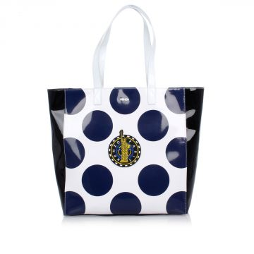 Shopping Bag with Pois