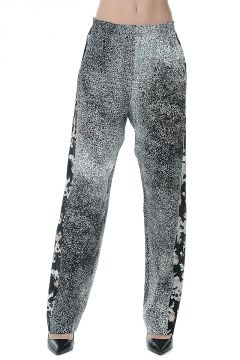 Silk Printed Pants