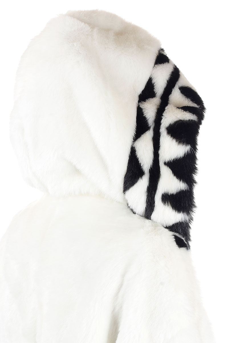 Ktz Women Quot Patchwork Quot Syntetic Fur Jacket Glamood Outlet