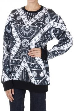 Abstract pattern Crew neck Sweatshirt