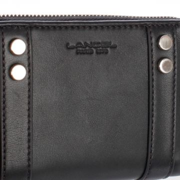 Zip Up Leather Wallet