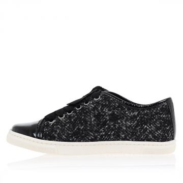 Sneakers BASKET Basse in Lana e Alpaca