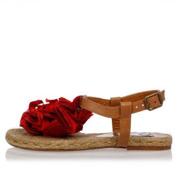 Sandalo Con Applicazioni