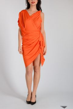 Asymmetrical Cut Dress