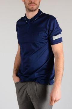 Cotton Jersey DECOUPÈ & RUBAN RÈFLÈCHISSANT Polo