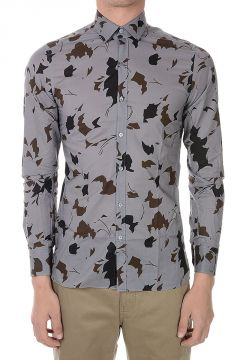 EVOLUTIVE Printed Cotton Shirt