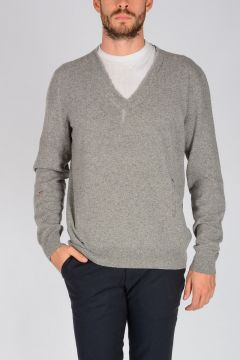 Open Stitch Wool Sweater