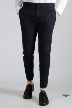 Silk Blend Biker Pants
