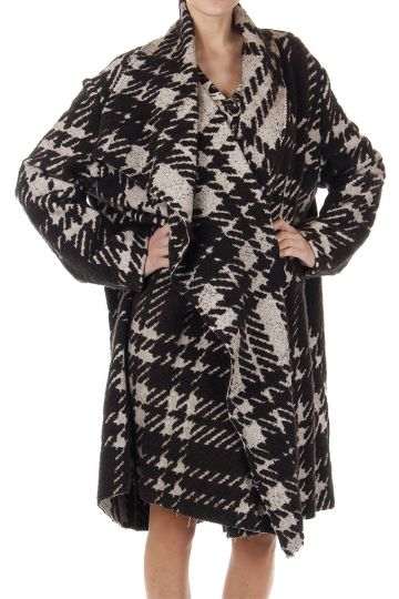 Alpaca mixed MANTEAU coat